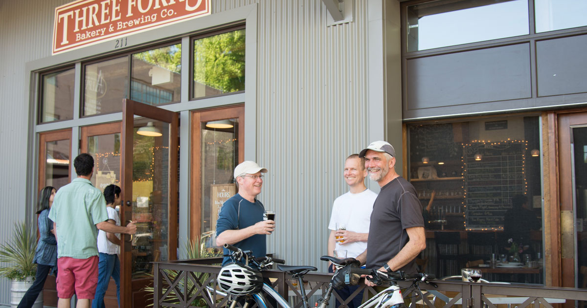 bikes and beer in nevada city