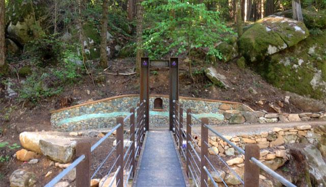 deer creek suspension bridge