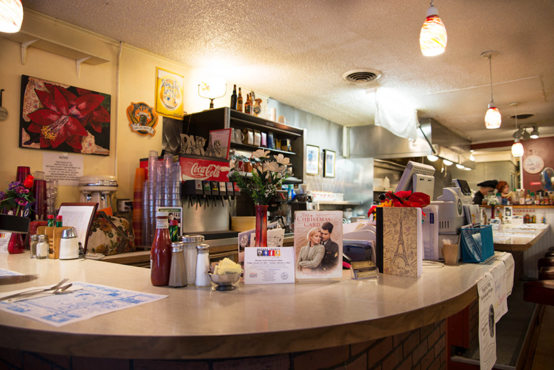 nevada city classic cafe - Where Was The Christmas Card Filmed
