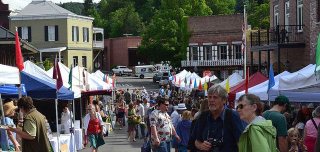 farmers market nevada city