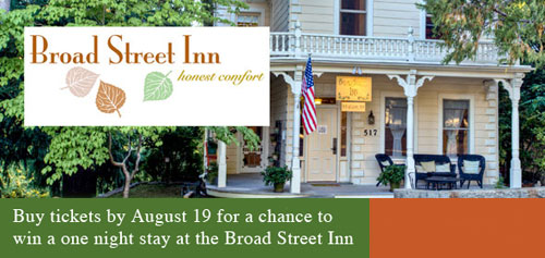 win a night at broad street inn